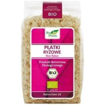 Płatki ryżowe BIO 300 g - Bio Planet. To jedno z popularniejszych dań na świecie.