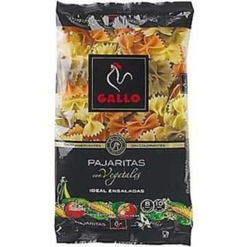 Makaron kokardki-Gallo. Trójkolorowy makaron z dodatkiem bazylii, pomidorów i szpinaku.