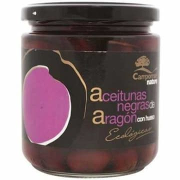 Oliwki czarne z pestką Bio Campomar Nature z ekologicznych upraw w słonecznej Andaluzji.