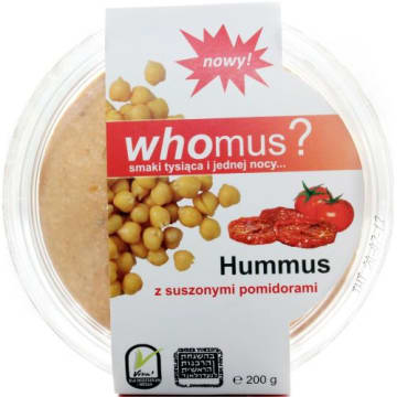 WHOMUS? Hummus z suszonymi pomidorami 200g