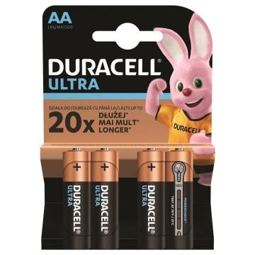 Baterie Alkaiczne LR6/AA-Duracell Turbo o wyjątkowo długim okresie działania.