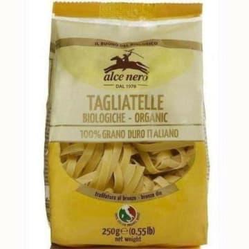Makaron gniazda Tagliatelle - Alce Nero. Do przygotowywania smacznych obiadów.