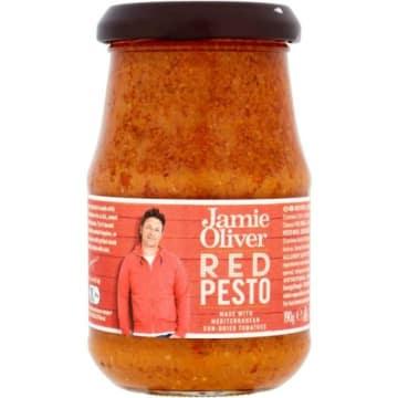 Pesto czerwone z suszonych pomidorów - Jamie Olivier