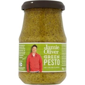 Pesto zielone z bazylii - Jamie Olivier