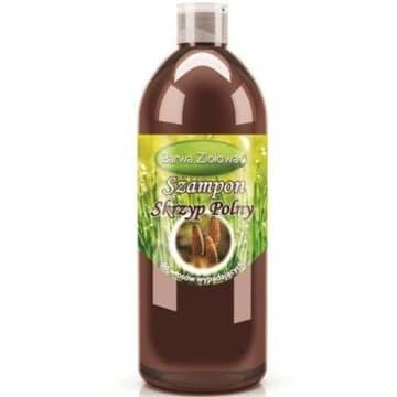 Szampon Skrzyp Polny - Barwa Ziołowa. Naturalny szampon do włosów osłabionych i wypadających.