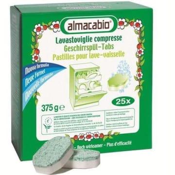 Tabletki do zmywarek - Almacabio. Idealne do mycia wszelkiego rodzaju naczyń - skuteczne!