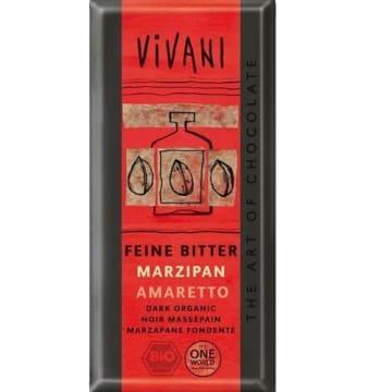 Czekolada gorzka z marcepanem - Vivani. Deser w wersji ekologicznej.
