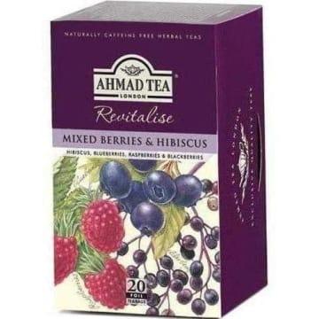 Herbata owocowo-ziołowa 20 torebek - Ahmed Tea. Pyszny smak i świetna jakość.