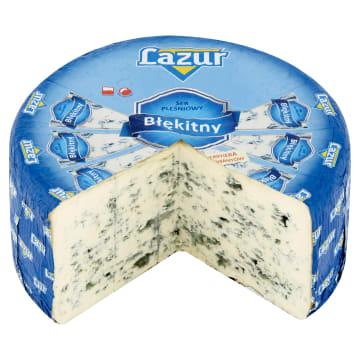 Ser pleśniowy - LAZUR. Błękitny ser pleśniowy to idealna kompozycja smaków.