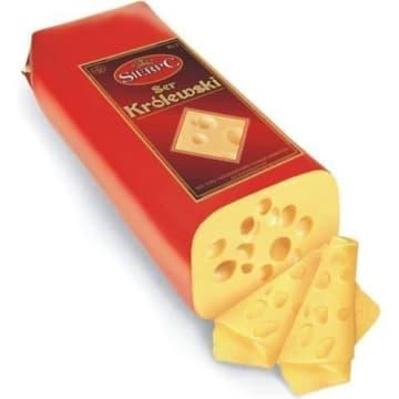 Ser i w plastrach o lekko słodkawej nucie - Sierpc