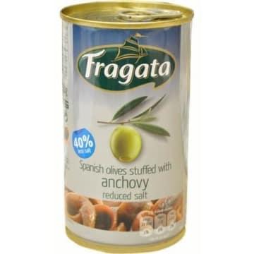 Zielone oliwki z anchois 350g - Fragata - przekąska pełna południowego słońca
