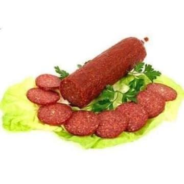 Salami pepperoni ASTA - plastry 150g - doskonałe jakościowo; polecane jako dodatek na kanapki.