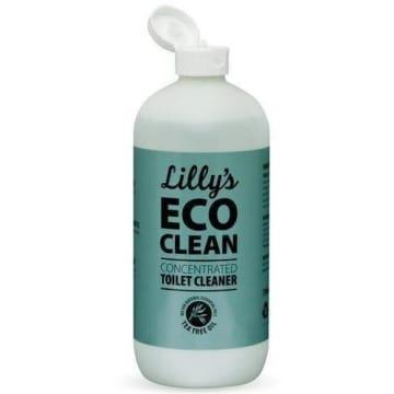 Płyn do toalet - Lillys Eco Clean. Skoncentrowany płyn z dodatkiem naturalnych składników.