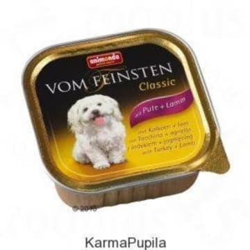 Pokarm dla psa - Indyk z jagnięciną 150g ANIMODA. Pełna wartości odżywczych karma dla Twojego czworonoga