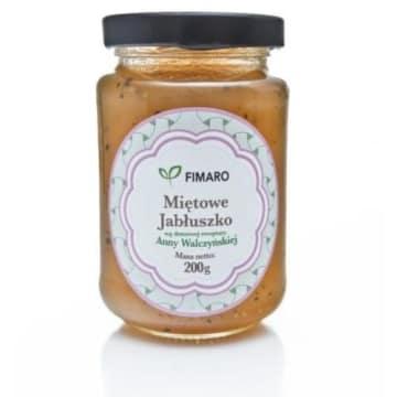Mus jabłkowy z miętą – Fimaro to połączenie owoców w smakowitym musie.