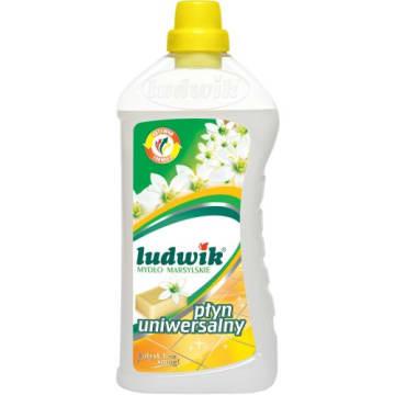 Uniwersalny płyn do mycia - LUDWIK. Wyczyści każdą powierzchnię zmywalną.