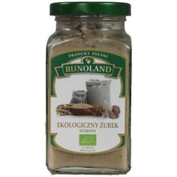 Żurek domowy - Runoland. Wyrazisty smak tradycyjnej polskiej zupy.