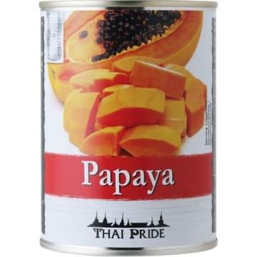 Papaja lekko slodzona w syropie THAI PRIDE 565g - doskonała dla miłośników oryginalnych smaków.