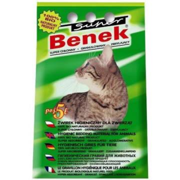 Żwirek uniwersalny - SUPER BENEK. Przyjemny aromat zielonego lasu.