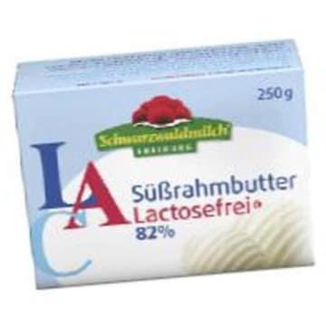 Masło bez laktozy - Breisgaumilch zawiera laktazę, ułatwiającą trawienie laktozy.