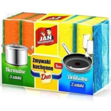 Zmywak kuchenny - Jan Niezbędny. Do zmywania różnego rodzaju naczyń.