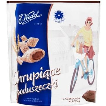 WEDEL Chrupiące poduszeczki z czekoladą mleczna 125g