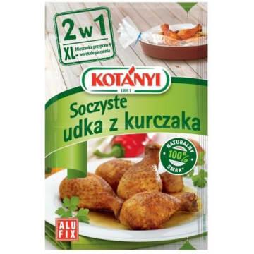 Soczyste udka Kurczka 2 w 1 – Kotanyi to doskonały pomysł na szybkie przyrządzenie udek z kurczaka.