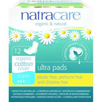 Podpaski ze skrzydełkami – Natracare. Cienkie i komfortowe zapewniają paniom pełną kontrolę.