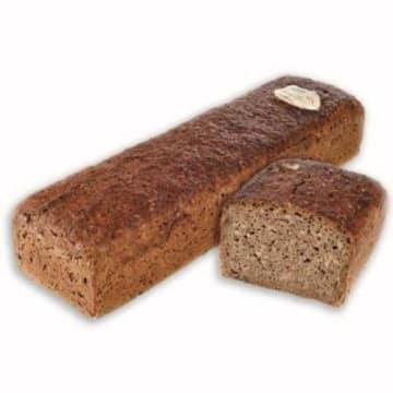 Chleb gruboziarnisty połówka - Putka to smaczna i zdrowa propozycja na śniadanie lub kolację.