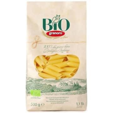 Makaron penne rigate BIO 500 g – Granoro. Pyszny włoski makaron w formie kośnych rurek.