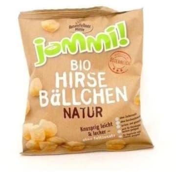 Chrupki jaglane bio – Rosenfellner to lekka przekąska wyprodukowana z ekologicznych składników.