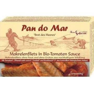 Makrela w sosie pomidorowym Bio Pan Do Mar to produkt firmy z tradycjami z Pólwyspu Iberyjskiego.