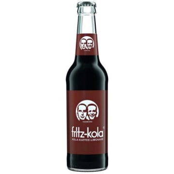 Fritz – Kola Kaffe Lemoniada gazowana to nietypowy napój o smaku kawy i coli.