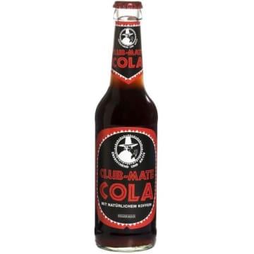 Napój gazowany Yerba Mate - Club Mate Cola. Moc energii i orzeźwienia.