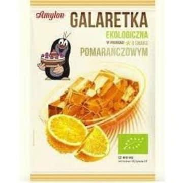 Galaretka pomarańczowa BIO – Amylon to zdrowy deser dla całej rodziny.