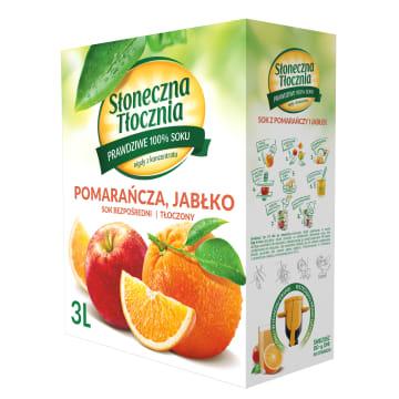 Sok pomarańczowo-jabłkowy - Słoneczna Tłocznia. Zachwyci wszystkie podniebienia.