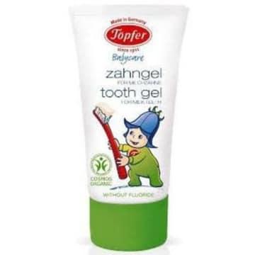 Żel do zębów dla dzieci bio – Topfer to ekologiczny produkt do higieny jamy ustnej dla dzieci.