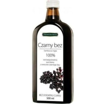 Sok bezpośrednio wyciskany z czarnego bzu - Premium Rosa