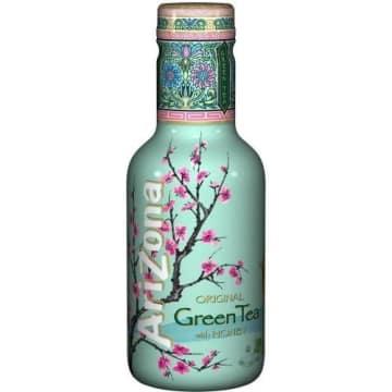Napój Green Tea z żeń szeniem i miodem - Arizona