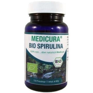 Spirulina 150 tabletek  - Medicura. Wspomaganie pracy wątroby i nerek w procesie detoksykacji