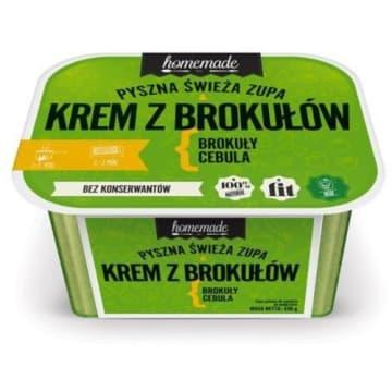 Homemade – pyszna zupa krem z brokułów, 430 g. Szybki obiad dla wymagających.