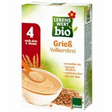 Kaszka pszeniczna pełnoziarnista - Holle nie zawiera mleka ani cukru.