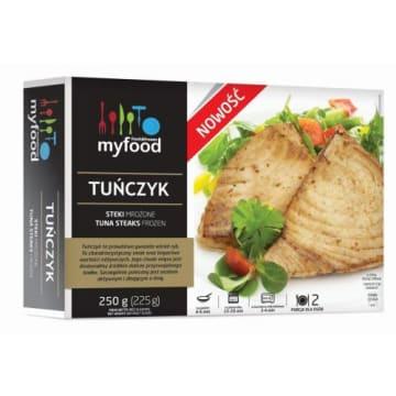 Tuńczyk steki mrożone – My Food to wyjątkowy, bogaty w białko i wartości odżywcze produkt.