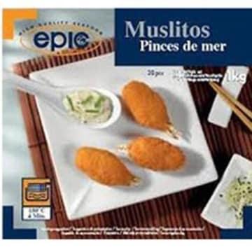 Mrożone szczypce krabów - Epic Muslitos. Szybki sposób na orientalne danie dla bliskich.