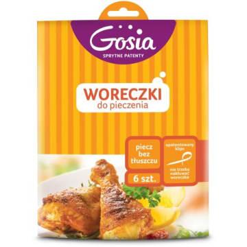 Gosia - Woreczki do pieczenia (6 szt.). Sposób na przygotowanie soczysych dań bez tłuszczu.