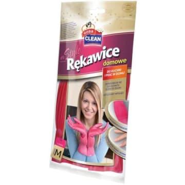 Rękawice domowe rozmiar M – Gosia do codziennego sprzątania ochronią Twoje ręce i paznokcie.