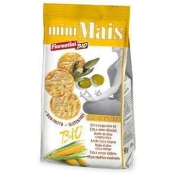 Krążki kukurydziane z oliwą z oliwek BIO – Fiorentini. Alternatywa dla niezdrowych przekąsek.