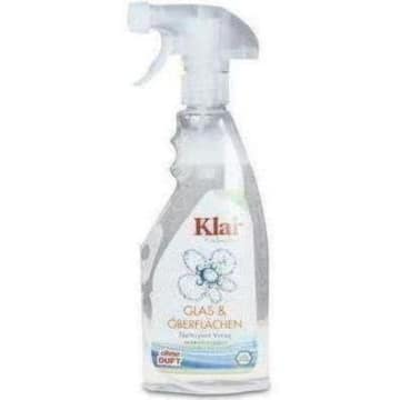 Klar – EcoSensitive Płyn do mycia szyb bio nie zawiera składników pochodzenia zwierzęcego.