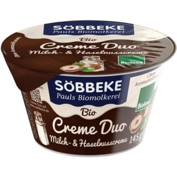 Krem mleczno-orzechowy 145 g – Sobbeke Duo. Jest propozycją idealną dla miłośników mlecznych deserów