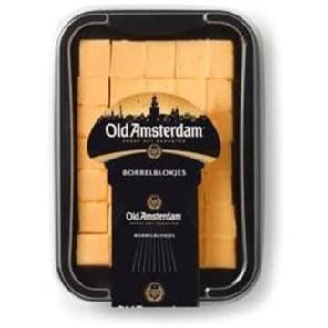 Ser Gouda kostki 150g - Gold Amsterdam. Wykwinty, długo dojrzewający ser.